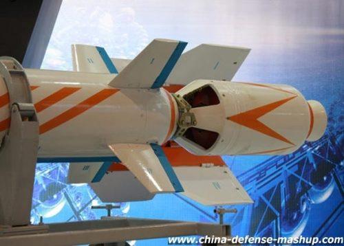 Jangkauan C-705 dapat ditingkatkan dengan roket booster