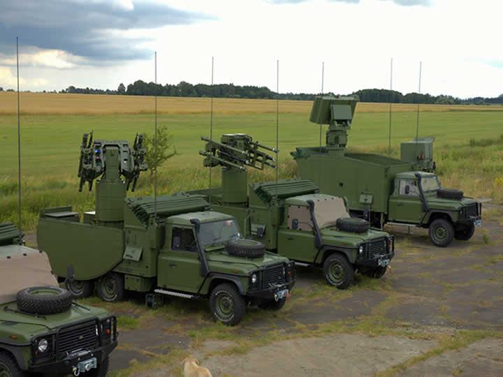 Rangkaian kendaraan tempur pengusung rudal Grom