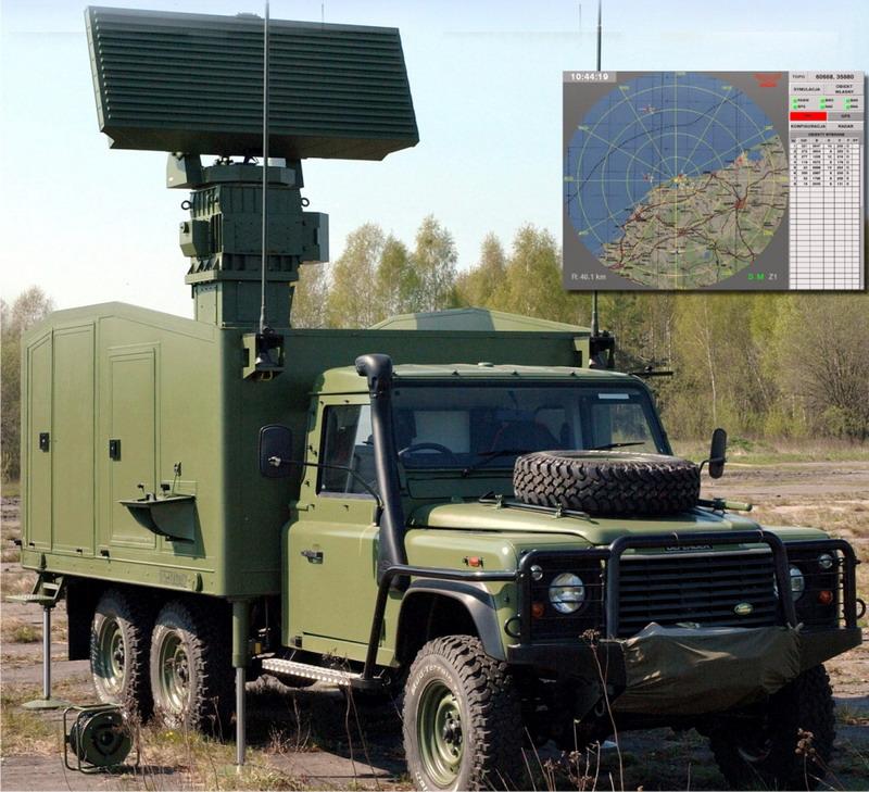 Mobile Multibeam Search Radar