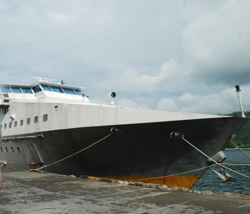 KRI Karang Unarang dikembalikan sebagai wahana tranport sipil.