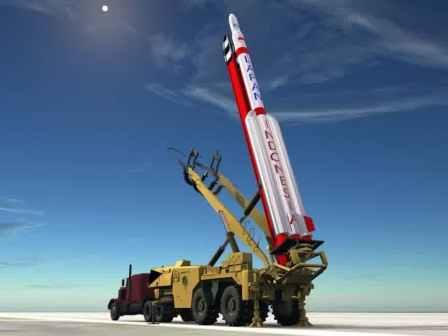 LAPAN's RX-550 rocket