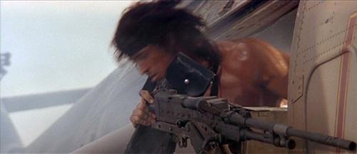 John Rambo pun pernah menggunakan FN MAG di film Rambo III. Senjata ini dipasang sebagai door gun di heli Hind tiruan.