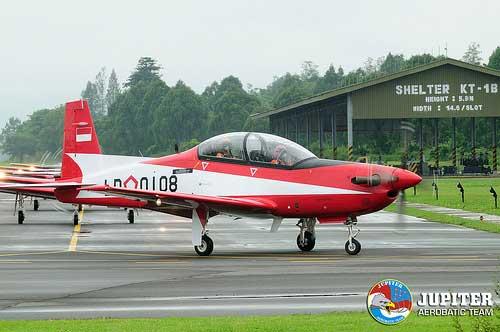 KT-1B Wong Bee TNI AU.