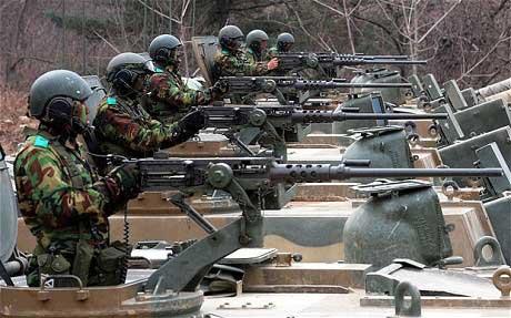 M2HB 12,7 mm untuk self defence.
