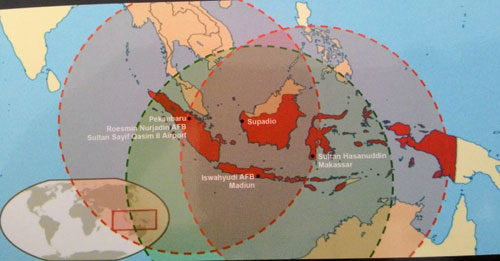 Estimasi combat radius Typhoon dengan CFT.