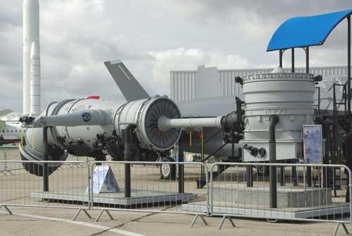Penampakan mesin F-35.