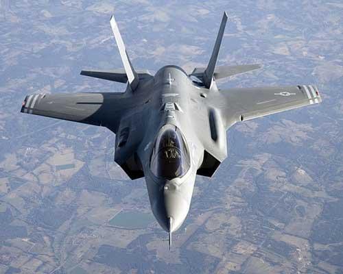 F-35 yang punya kemampuan stealth dengan RCS 0,005