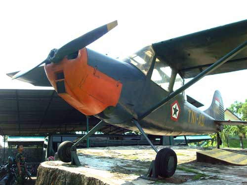 Cessna O-1-Birddog Penerbad di PusdiklatPenerbad, Semarang.