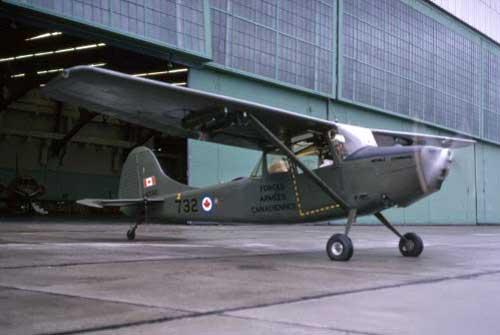 Cessna L-19 AD Kanada.