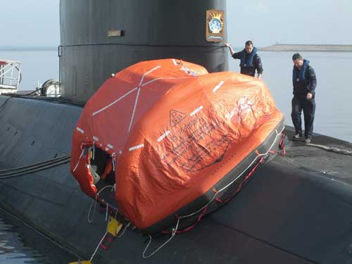 Changbogo Class nantinya juga dilengkapi life rafts dengan kapasitas 25 orang.