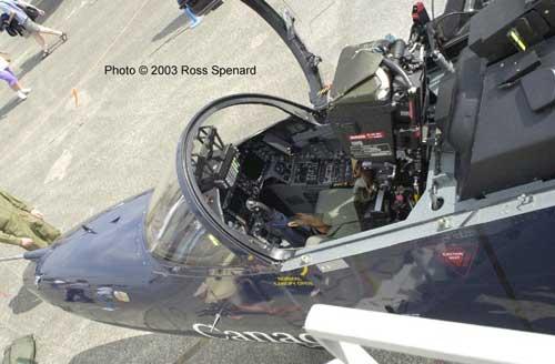Beginilah tampilan kokpit Hawk 100 yang full digital.