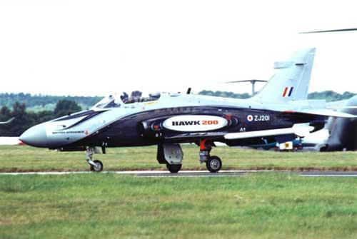 Versi demo Hawk 200.