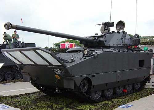 AMX-10 PAC 90 milik AD Singapura.