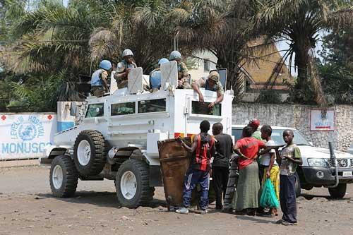 Mamba juga laris manis diandalkan sebagai rantis pasukan PBB.