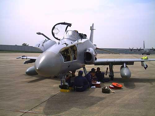 Hawk 200 milik AU Malaysia.