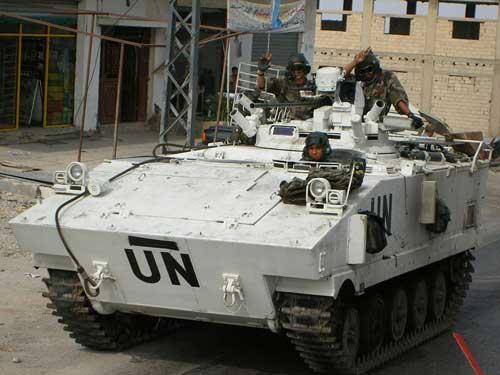 Beberapa kali aktif dalam mendukung misi pasukan PBB.