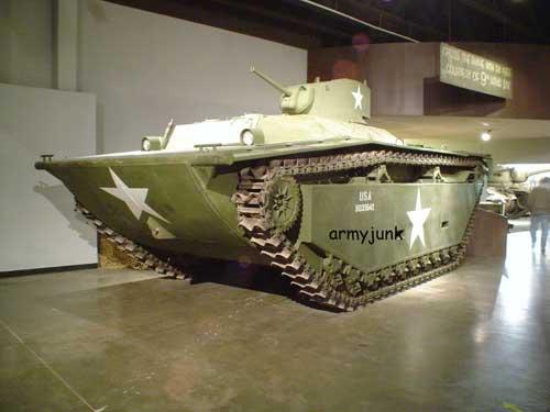 Dilengkapi kanon 37 mm,  kanon yang sama digunakan pada tank ringan M3A3 Stuart