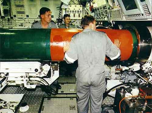 Torpedo MK48 mod4 di HMAS Collins,