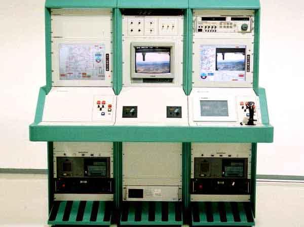 Perangkat navigasi pada Ground Control Station Aerostar.