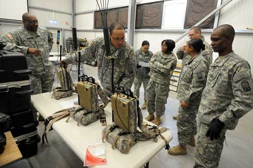 Pasukan AS sedang mempersiapkan jammer anti IED.