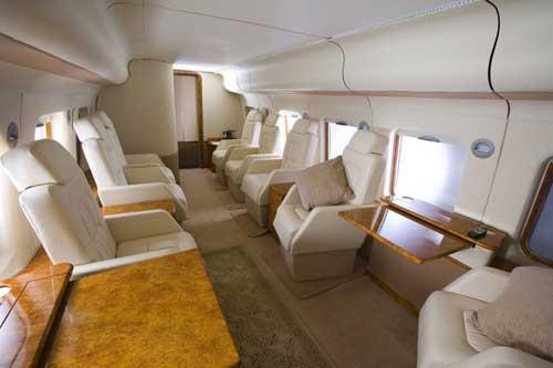 Interior AW101 VVIP. Untuk urusan interior bisa dikustom sesuai keingjnan pembeli,
