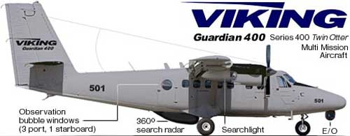 Twin Otter Guardian Series 400 Maritime Patrol.