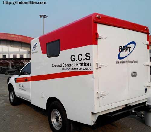 GCS mobile untuk Wulung UAV.