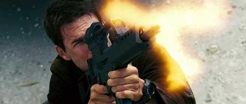 Tom Cruise beraksi dengan G36 dalam Mission Impossible III.