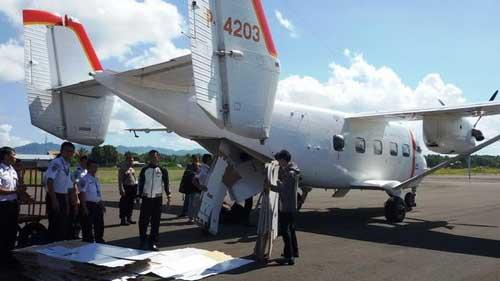 Skytruck juga digunakan oleh penerbangan sipil di Pulau Kalimantan.