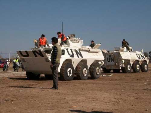 WMZ-551 juga digunakan Cina sebagai bagian dari kekuatan pasukan PBB di Sudan.