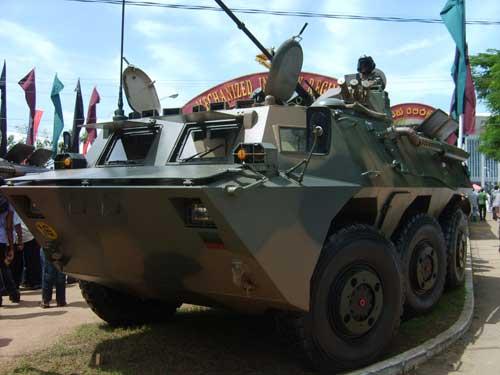 WMZ-551 juga ideal sebagai kekuatan pendukung untuk batalyon infanteri mekanis.