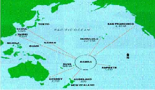 posisi-pulau-samoa