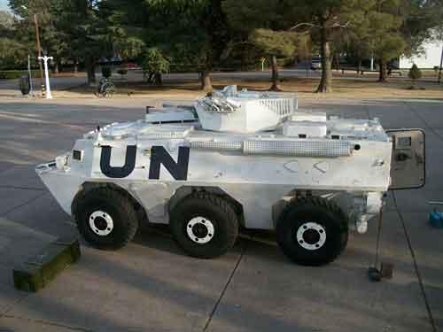 Partipasi ranpur ini dalam misi PBB tak pelak ikut mendongkrak reputasi dan promo WMZ-551.