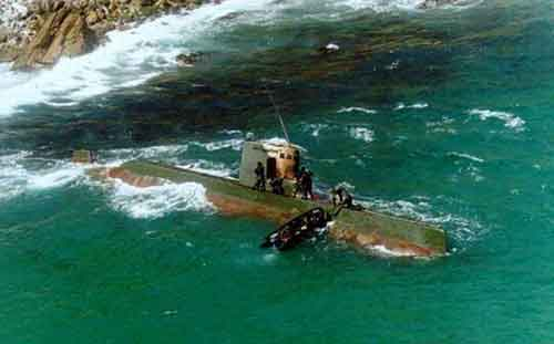 Kapal selam mini korea Utara (Sang O Class) dalam misi penyusupan yang gagal ke Korea Selatan.