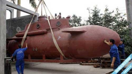 Kapal selam mini buatan Vietnam.