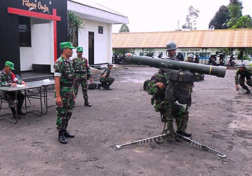 RBS 70 milik Arhanud TNI AD.