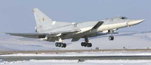 Pembom Tu-22 Rusia, salah satu korban Spyder.