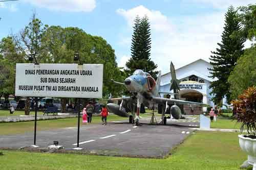 A-4E Skyhawk di Museum Dirgantara Mandalla, Yogyakarta.