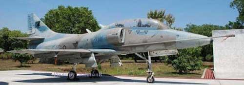 TA-4 H Skyhawk TNIAU.