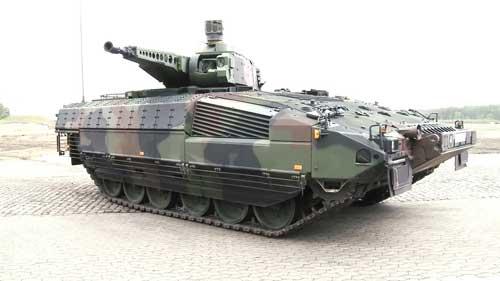 Oerlikon Skyshield dipasang pada IFV Marder.