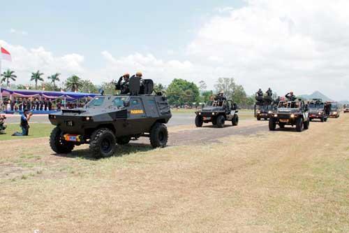 Rantis DMV 30 T/A Paskhas TNI AU.