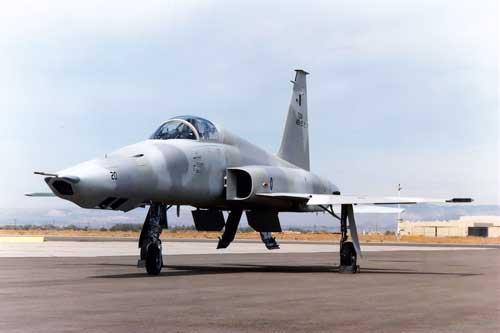 RF-5E Tigereye milik AU Malaysia.