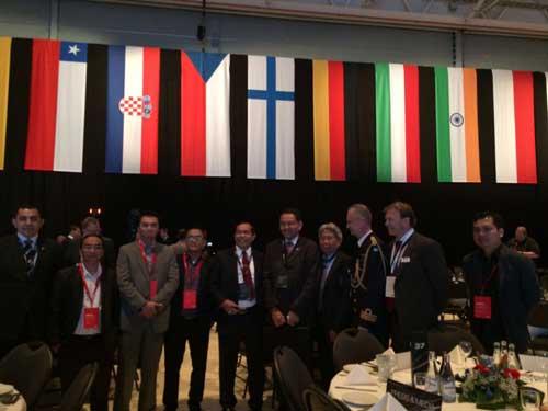 Delegasi Kemhan RI, Duta Besar RI Untuk Swedia dan Atase Pertahanan RI.