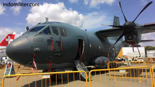 C-27J Spartan RAAF di Singapore Airshow 2016.