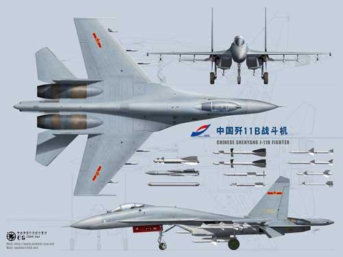 China's-J-11B-Fighter-Jet