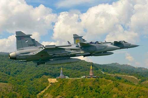 Gripen C AU Thailand.