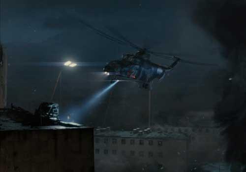 Tampil dalam scene akhir film Die Hard 5: A Good Day to Die Hard .
