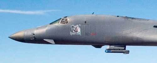 Pembom B-1B Lancer juga menggunakan Sniper ATP.