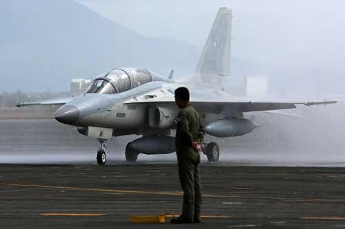 FA-50 milik AU Filipina.