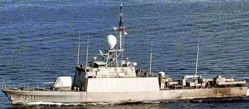 KRI Singa 651, salah satu jenis FPB-57 Nav II.